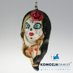 Komozja family - Edler Christbaumschmuck aus Glas