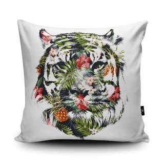 WRAPTIOUS Designerkissen - Tropical Tiger