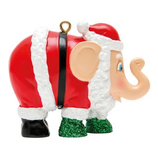 Elephant Parade Ornament  5cm - Santa