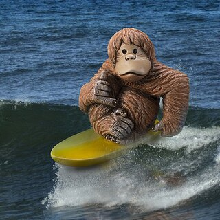 DE ROSA Coll. - The Surfer - PROFESSIONAL ORANGUTANs