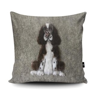WRAPTIOUS Designerkissen - Cockerspaniel