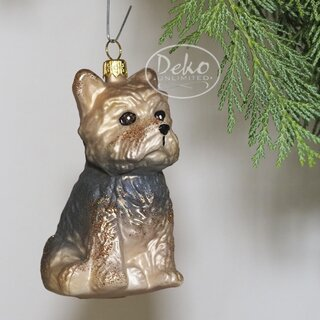 Christbaumschmuck - GMC - YORKSHIRE TERRIER