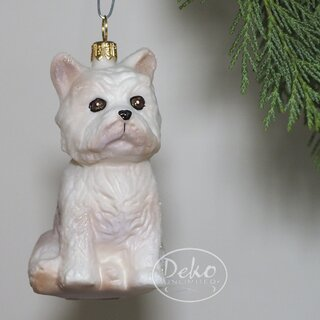 Christbaumschmuck - GMC - WESTIE / West Highland Terrier
