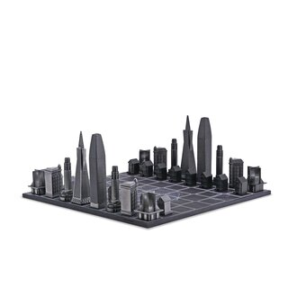 SKYLINE-CHESS - Design - Schach / San Francisco Exclusive...