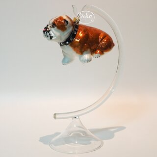 Christbaumschmuck - IMPULS - BRITISH BULLDOG / Bulldogge