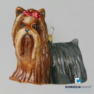 KOMOZJA family - Christbaumschmuck - YORKSHIRE TERRIER