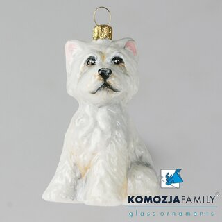 KOMOZJA family - Christbaumschmuck - WESTIE - West...