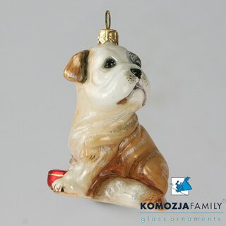 KOMOZJA family - Christbaumschmuck - FRENCH BULLDOG puppy