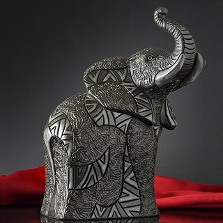 DE ROSA Coll. - Elephant / Elefant - NERO / BLACK COLLECTION
