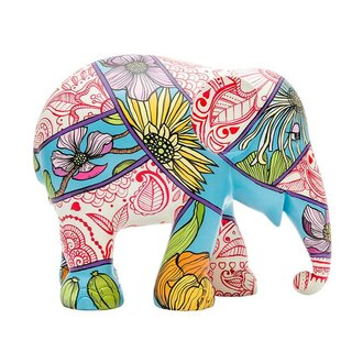 Elephant Parade - Henna and Head Scarves