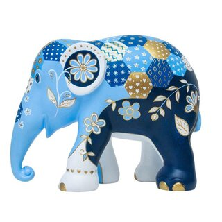 Elephant Parade - Patchie Indigo