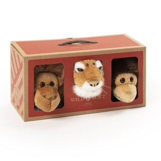 WILD & SOFT - JUNGLE Geschenkbox mit 3 Miniaturen