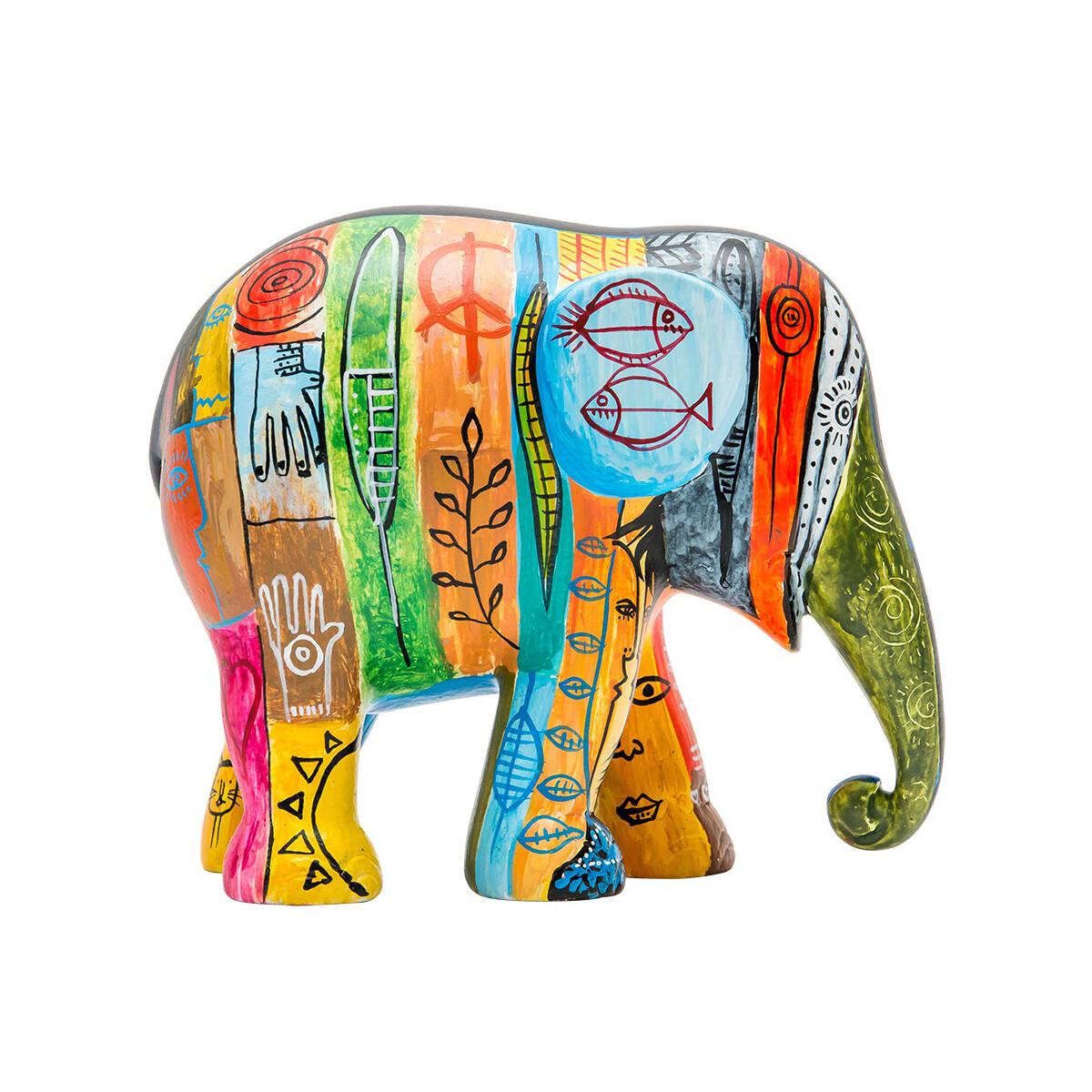 Elefant der elephant parade psycho elephant for Asiatische wanddeko