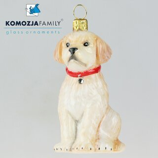 KOMOZJA family - Christbaumschmuck - GOLDEN RETRIEVER
