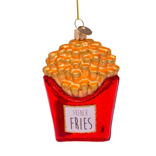 Vondels - Christbaumschmuck aus Glas - French fries /...
