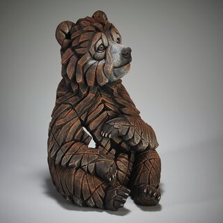 EDGE SCULPTURE - Bear cub / Bärenjunges Baby