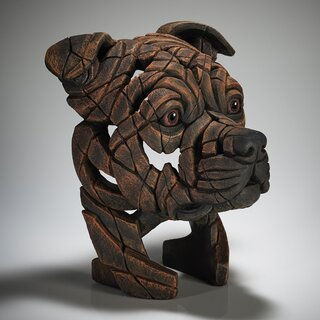 EDGE SCULPTURE - Staffordshire Bull Terrier brindle