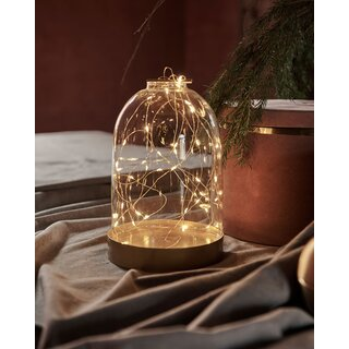 SIRIUS - Bianca Dome Laterne 40L gold - 23cm