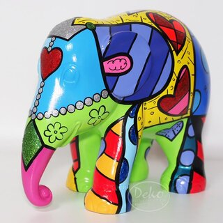 Elephant Parade - Love by Romero Britto
