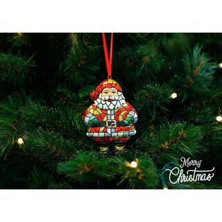 Barcino Designs - Christbaumschmuck / Ornament - Santa...