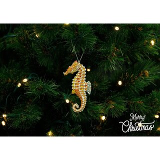 Barcino Designs - Christbaumschmuck / Ornament - Seepferd...