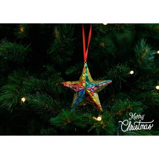 Barcino Designs - Christbaumschmuck / Ornament - X-MAS Stern