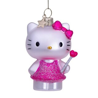 Vondels - Christbaumschmuck aus Glas - Hello Kitty with...