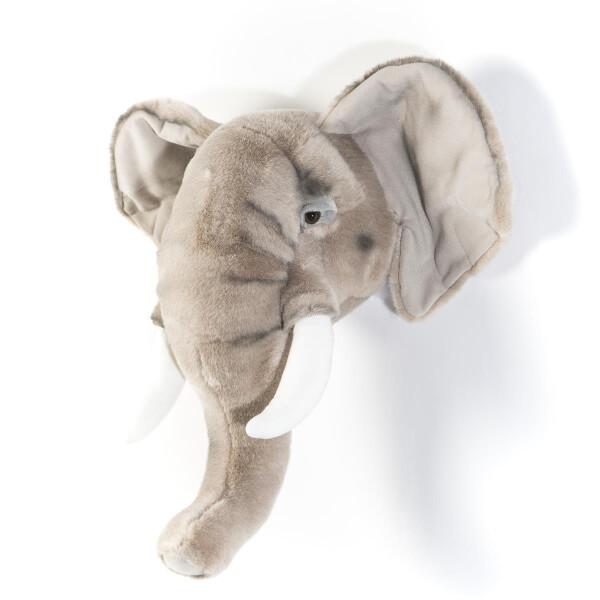 Tierkopf Deko tierkopf aus plüsch elefant george deko
