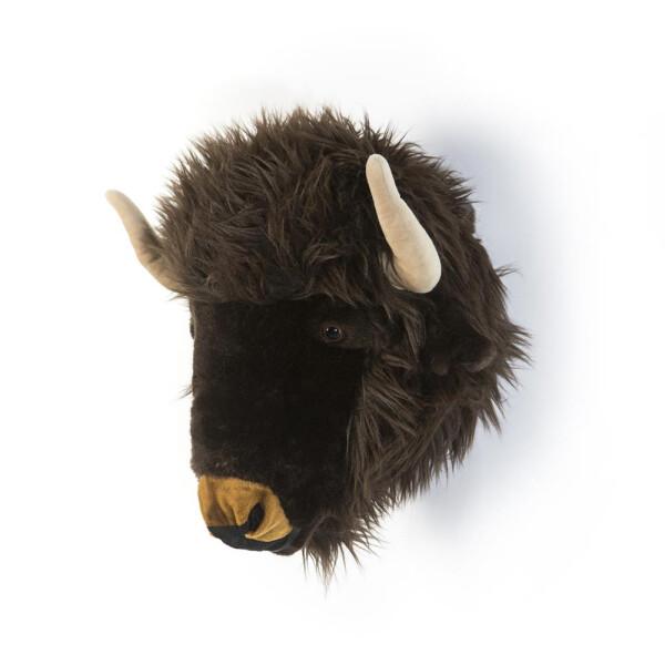 Tierkopf Deko tierkopf aus plüsch büffel alex deko unlimited