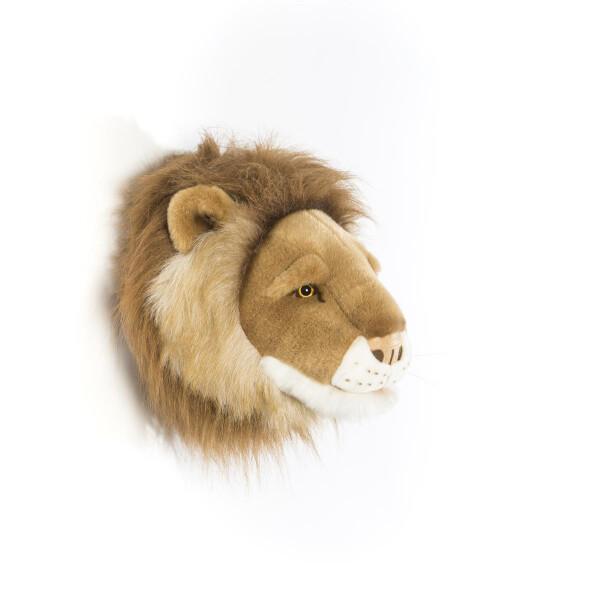 Tierkopf Deko tierkopf aus plüsch löwe cesar klein deko