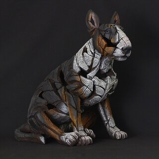 EDGE SCULPTURE - Bull Terrier tricolor