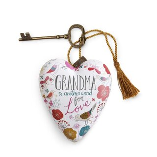 Art Heart - Grandma