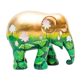 Elephant Parade - Golden Lotus