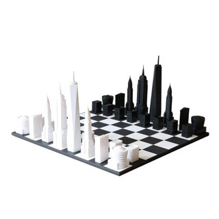 SKYLINE-CHESS - Design - Schach / New York Edition...