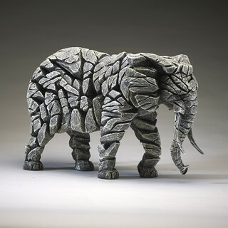 EDGE SCULPTURE - Elefant weiß