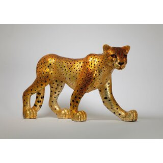 BARCINO DESIGNS - Leopard / Cheetah XL gold 45cm