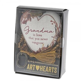 Art Heart - Grandma is love