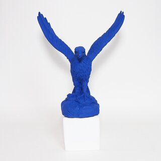 SOPHIA Greece - Skulptur Adler / Eagle M klein-blue