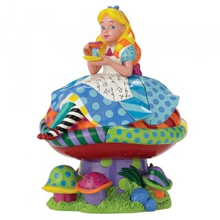 DISNEY-Britto-Kollektion - ALICE IN WONDERLAND - Alice im...