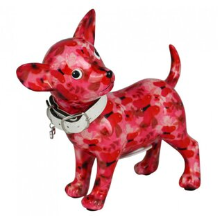 Spardose POMME PIDOU - Chihuahua Pippa - pink /...